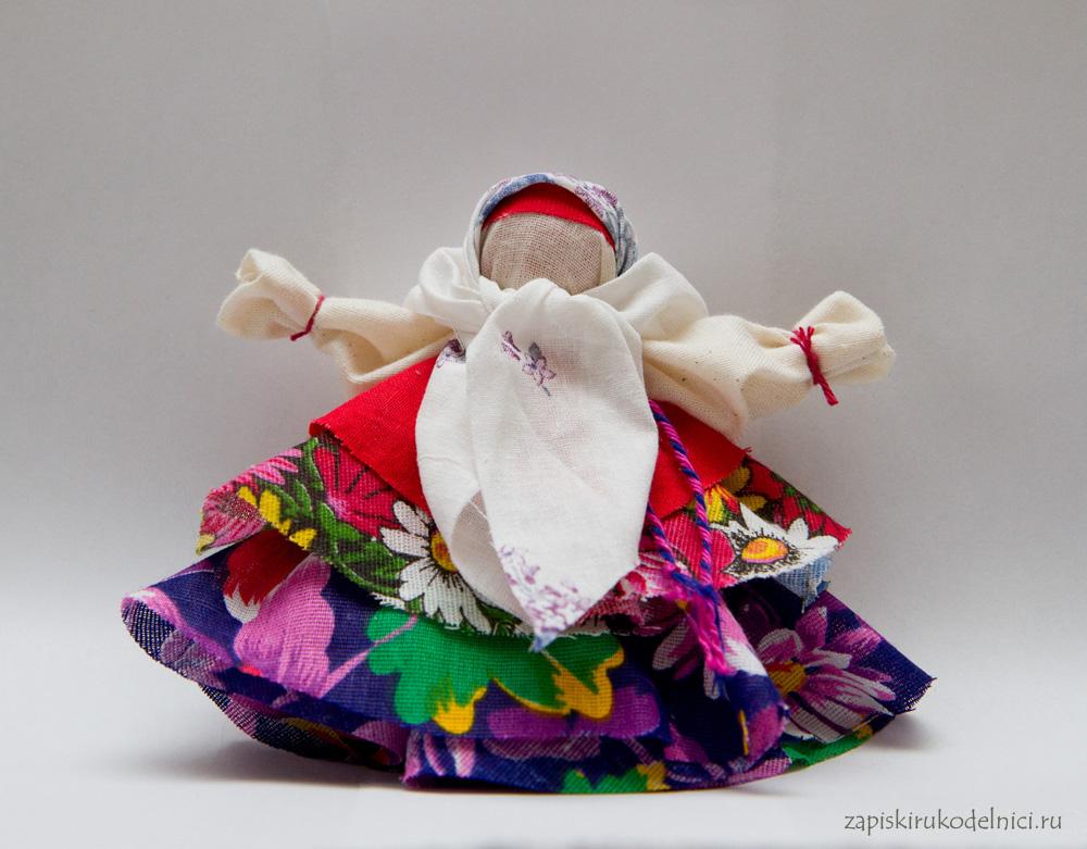 Обрядовая кукла колокольчик своими руками