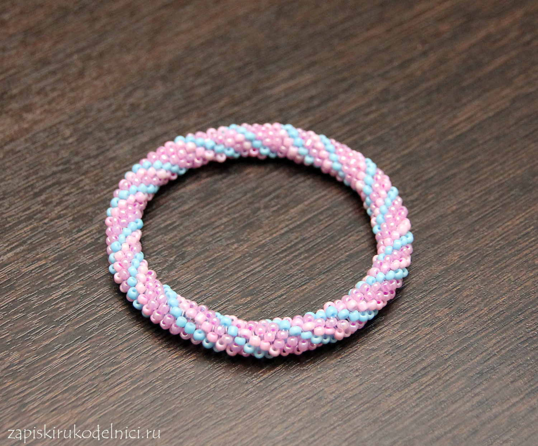 Как делать браслеты из бусинок своими руками