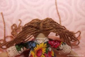 Пришиваем волосы